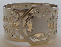 Boxed Set of 6 Sterling Solid Silver Napkin Rings Serviette Ring 173g c.1940 (4 of 6)