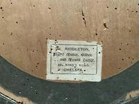 Fine Quality Early 20th Century Oval Pastel Portrait Painting Inc London Gallery Label (11 of 12)