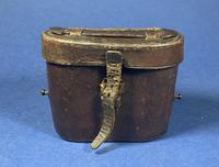 Victorian Brass Binoculars with original leather case (7 of 19)