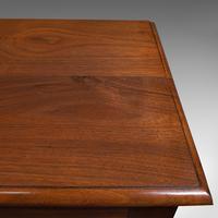 Antique Side Cabinet, English, Walnut, Drinks Cupboard, Bookcase, Edwardian (8 of 10)