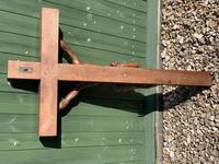 Large Oak Crucifix (6 of 6)