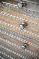 Pair of Stained Beech Chest of Drawers (7 of 16)