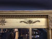 19th Century Gilt Overmantel Mirror (3 of 10)