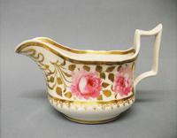 New Hall Old English Shape Cream Jug c.1825 (4 of 5)