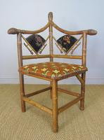 Rare Victorian Aesthetic Chair by Jas Shoolbred (7 of 10)