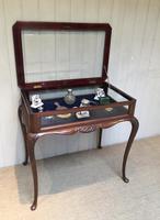 Edwardian Mahogany Bijouterie Table (6 of 10)