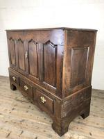 18th Century Welsh Oak Carmarthenshire Coffer (4 of 20)