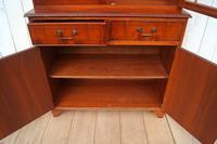 Glazed Reproduction Bookcase (6 of 6)