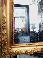 19th Century French Gilt Landscape / Portrait Mirror (4 of 4)
