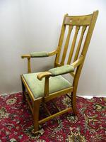 Arts & Crafts oak armchairs - Shapland & Petter (3 of 6)