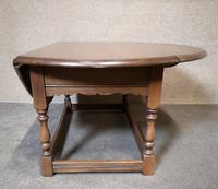 Oak Drop Leaf Occasional - Coffee Table Wood Bros, Old Charm Furniture (8 of 11)