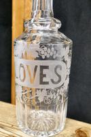 Victorian Etched Crystal Cloves Decanter (5 of 7)