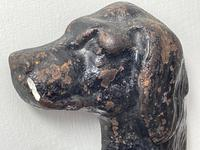19th Century Country House Seated Hound Dog Cast Iron Door Stop (13 of 37)