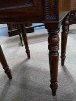 Mahogany Tray Top Bedside Table (2 of 6)
