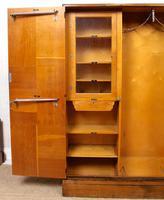 Compactum Oak Wardrobe Antique Vintage Gents Armoire (2 of 14)