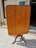 Golden Oak Georgian Tilt Table (3 of 5)