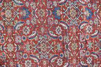 Antique Heriz Carpet 383x311cm (2 of 5)