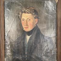 Antique Belgian Flemish Oil Painting Portrait of Polydoor Lippens (5 of 10)