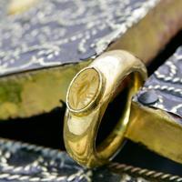 The Ancient Roman Gold Intaglio Scorpion Ring (3 of 6)