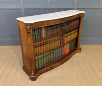 19th Century Rosewood Open Bookcase (9 of 13)
