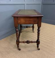 Good Late Victorian Mahogany Writing Table (6 of 14)
