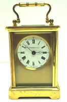 Classic Antique French 8-day Carriage Clock Timepiece c.1890 - L Epee & Camerer Cuss (2 of 10)