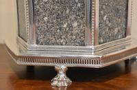Fine Victorian Silver Plate Biscuit Box or Barrel (4 of 9)
