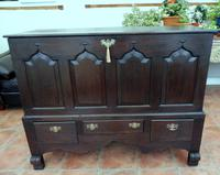Large Country Oak Mule Chest c.1760