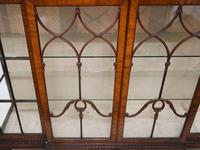 Antique Chippendale China Cabinet Mahogany Antique c.1910 (4 of 15)