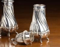 Set of 4 Late 19th Century Silver Sugar Dredgers (5 of 6)