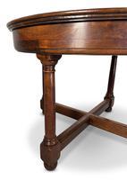 Circular Mahogany Centre Table (4 of 7)