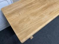 French Trestle End Refectory Farmhouse Dining Table (4 of 17)