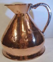 19th Century Polished Copper Four Gallon Measure (2 of 4)