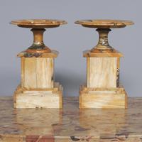 Sienna Marble Clock Garniture (5 of 6)