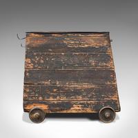 Antique Industrial Machinist's Truck, English, Trolley, Kitchen, Wine, Victorian (6 of 12)