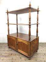 19th Century Mahogany Buffet with Cupboard Base (14 of 18)