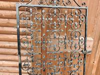 Large Iron Garden Gate (4 of 7)