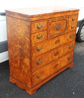 Beautiful 1880's Satin Birch Chest Drawers (4 of 6)