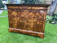 Burr walnut Louis Philippe commode (8 of 13)