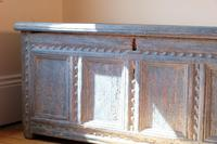 18th Century Painted Pine Coffer (17 of 28)