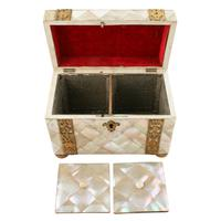 Mother of Pearl Tea Caddy (2 of 8)