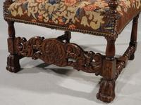 Well Carved Early 20th Century Oak Throne Type Chair (7 of 7)