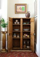 Tall Antique Pine Pantry Cupboard (5 of 15)
