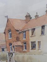 Watercolour Country Village Exhibited Artist Tony Hunter (9 of 10)