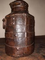 18th Century Iron Banded & Riveted Cream Can (2 of 13)