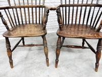 Near Pair of Stickback Windsor Armchairs (8 of 8)