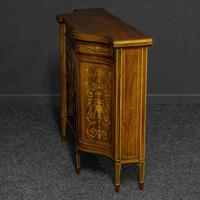 Victorian Rosewood Side Cabinet (8 of 17)