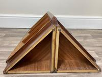 Pair of Mid Century G Plan E Gomme Pyramid Teak Open Corner Bookcases (12 of 38)