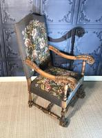 Carved Oak Chair (6 of 19)
