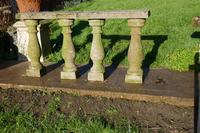 Weatherworn Concrete Balustrade, Columns & Coping Stones (2 of 7)